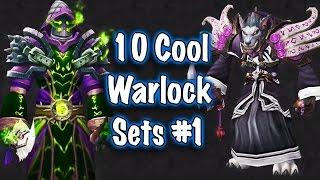 Jessiehealz - 10 Cool Warlock Transmog Sets #1 (World of Warcraft)