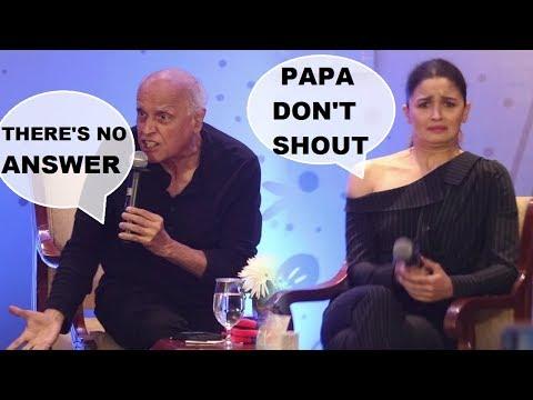 Alia Bhatt feels embarrassed as Mahesh Bhatt looses cool over media