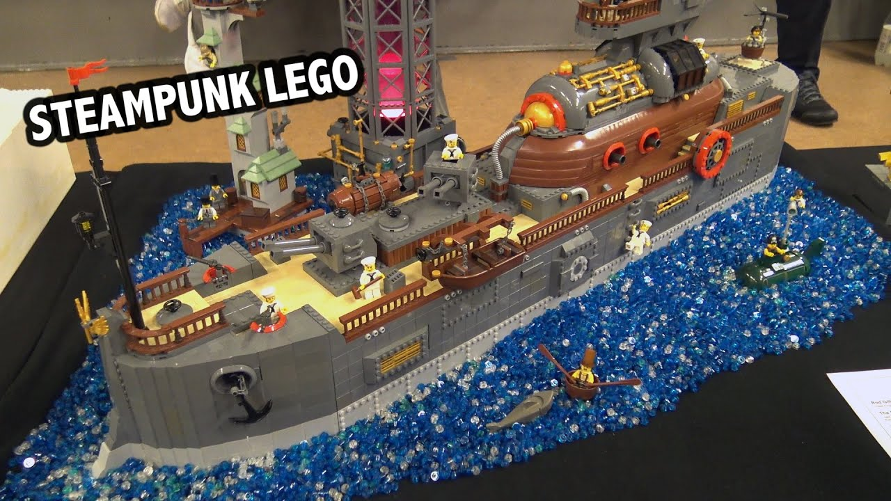 LEGO Steampunk Battleship | Skærbæk Fan Weekend 2019
