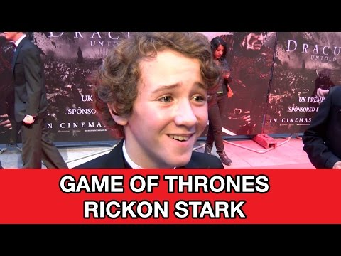 Game of Thrones Rickon Stark Interview - Art Parkinson & Dracula Untold | MTW