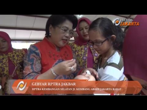 Plt Ketua TP PKK DKI Tri Rahayu Sumarsono Hadiri Gebyar RPTRA Jakbar