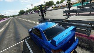 Forza Horizon 4:600+HP STi Solo Cruise & New 1/4 Mile Drag Strip w/ Test Runs