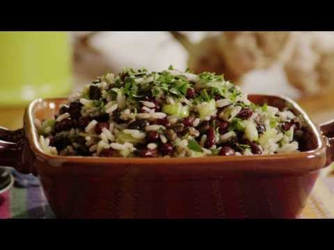 Spicy Black Bean and Rice Salad | Vegetarian Recipes | Allrecipes.com