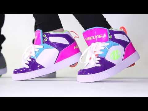 Como patinar con zapatillas con ruedas Heelys
