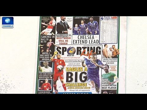 Sports Papers Review With Bada Akintunde-Johnson