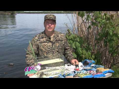брикеты для рыбалки видео