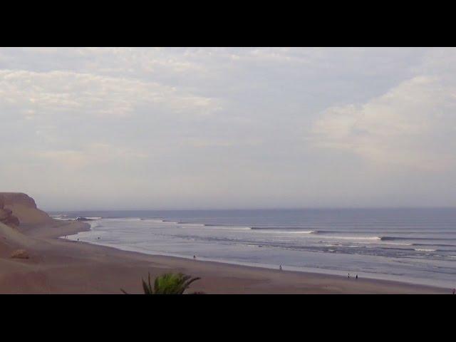 Kepa Acero en Chicama, la ola más larga del mundo