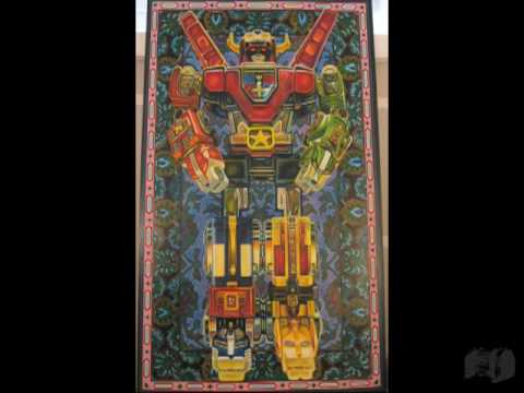 Beautiful Voltron Painting Took an Entire Year, Captured in Time-Lapse Video