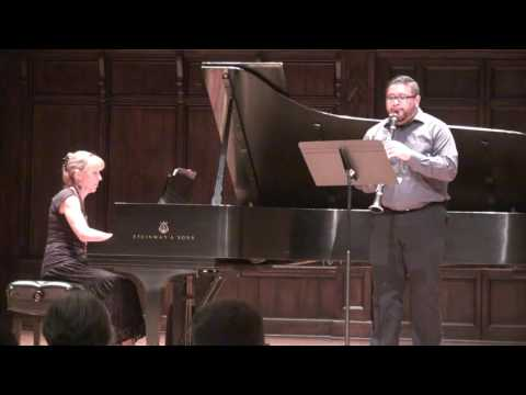 Dance Preludes by Witold Lutoslawski at the 2016 Claremont Clarinet Festival
