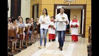 Canto de Ofertório - Missa de Investidura de Novos Ministros da Sagrada Eucaristia (13.10.2018)