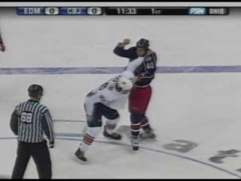 Zack Stortini vs Jared Boll