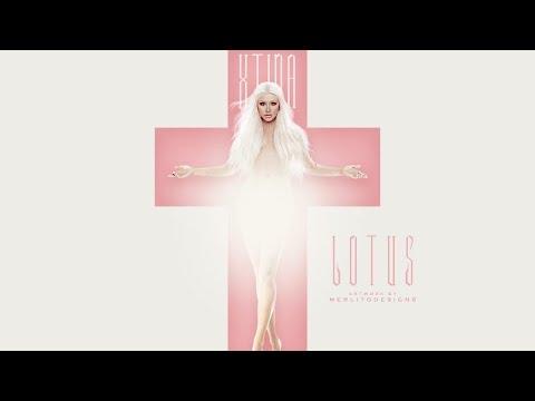 Christina Aguilera - Lotus Intro Backdrop (The Lotus World Tour)