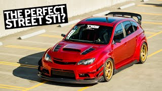 Canada's Ultimate Subaru Impreza STI Street/Track Car Build, With NSX Candy-Red Paint