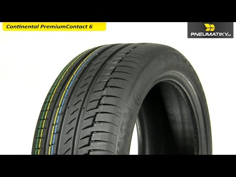 Youtube Continental PremiumContact 6 205/40 R17 84 Y XL FR Letní