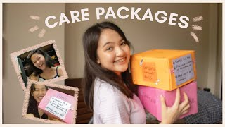 Quarantine Care Package L How To Make DIY Care Packages For Friends + Reaction Video (philippines)