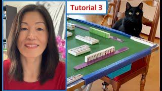 How to play Mahjong? Classic Mahjong for Beginners! Lesson 3 (Deutsch mit English Untertitel)