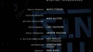 Digital Tenderness DVD - credits B