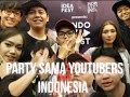 PARTY SAMA YOUTUBERS INDONESIA ! #VLOGRECEH