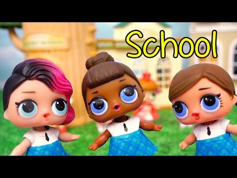 Toys for Kids L.O.L. Surprise Dolls - The Teacher Won't Let the Students Have a Cheerleading Team