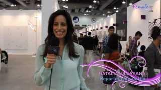 "Femalewebtv - Zona Maco 2012  ""reportera por un dia"" con Natty Villasana"