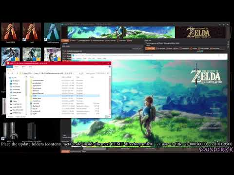 Tutorial Zelda Breath of the Wild 30fps, WiiU USB Helper (Cemu) +