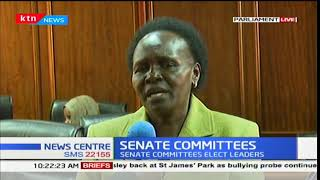 Senate committees to elect their leaders