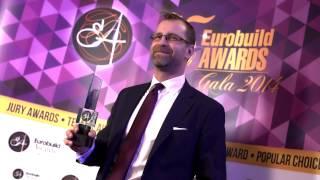 Wywiady podczas gali Eurobuild Awards 2014