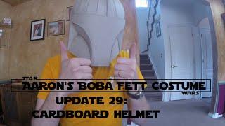 Boba Fett Costume Update 29: The main Helmet Structure