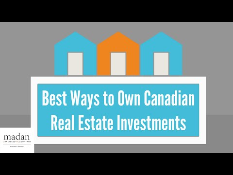 Canadian Real Estate Investment