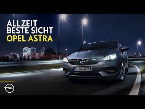 Opel Astra Vorreiter mit IntelliLux LED Matrix-Licht