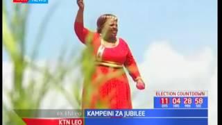 Rais Uhuru Kenyatta aendelea na kampeni za Jubilee huko Nanyuki