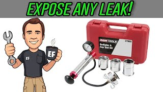 How to PRESSURE TEST a cooling system and find ANY LEAK