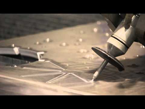 {VIDEO} Waterline bevel cutting aluminium