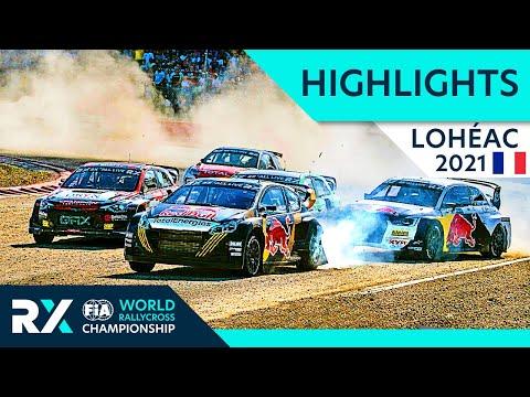 世界ラリークロス フランス( エアロック)2021年 RXクラスの決勝ハイライト動画