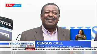 DP William Ruto, Mudavadi want Kenyans to be ready for counting