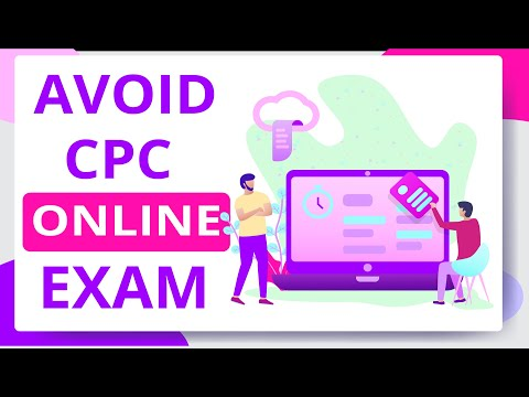 How to book a CPC exam? | Why you should avoid Online CPC ...