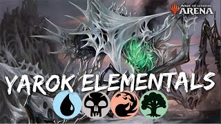 MTG Arena M20 | Simic Hydra DeckTeck & Gameplay [Talking Heads