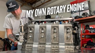 I take the FIRST step to making my own rotary engine parts. by Rob Dahm