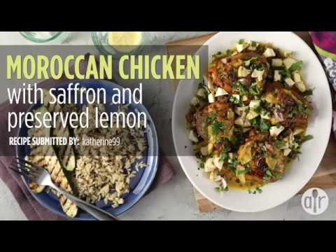 How to Make Moroccan Chicken with Saffron and Preserved Lemon | Dinner Recipes | Allrecipes.com