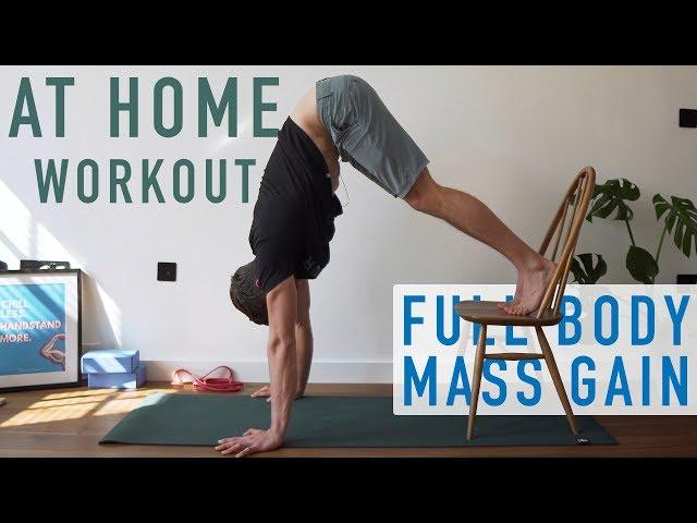 Bodyweight Mass Gain Workout *No Equipment* | Day 5 [At Home Program]