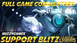 preview picture of video 'League of Legends - Diamond Support Blitzcrank - Full Game Commentary'