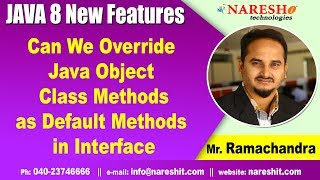 Java 8 New Tutorials | Can We Over ride Java Object Class Methods as Default Methods in Interface