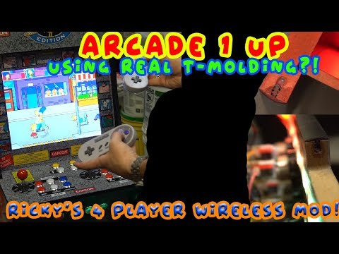 Arcade 1Up Konami Cabinet On The Way!?! Arcade 1Up 4 Player Cabinet