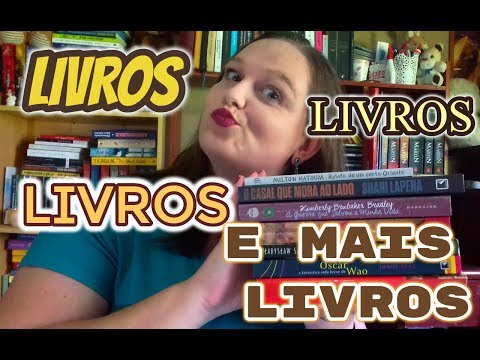 BOOK HAUL OUTUBRO #12 | ENTRE LETRAS E LINHAS