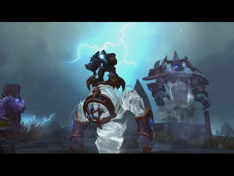 The Story of Farseer'S Raging Tempest - Patch 7.2 Shaman Class Mount
