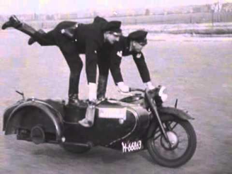 Oefeningen Rotterdamse motorpolitie (1948)