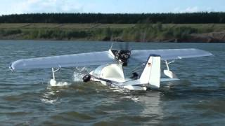 preview picture of video 'Wasserflugzeuge in Zwenkau'