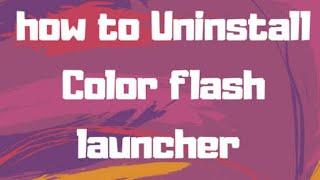 call flash app delete - Thủ thuật máy tính - Chia sẽ kinh nghiệm sử