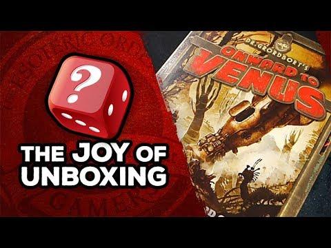 The Joy of Unboxing: Onward to Venus