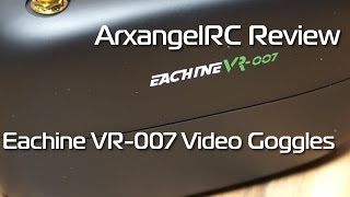 Eachine VR-007 40ch FPV Video Goggles Review
